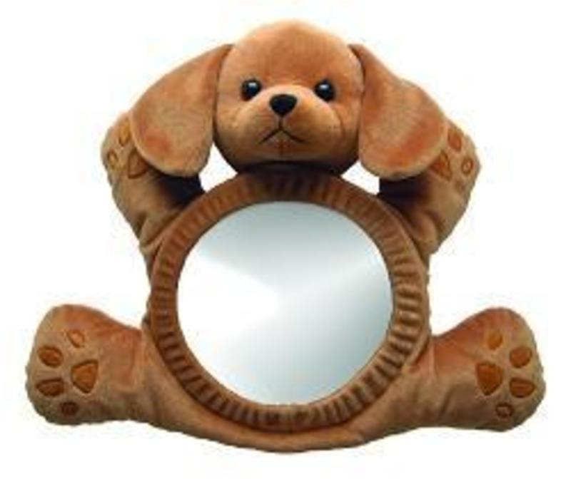 See Me Smile BearView Infant Mirror In Puppy