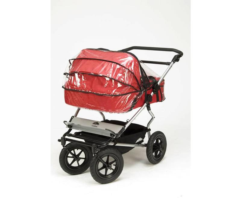 CLOSEOUT!!  Mountain Buggy Twin Carrycot Storm - Rain Cover