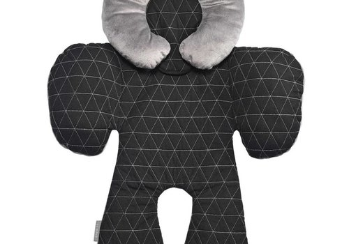 JJ Cole Collections JJ Cole Reversible Body Support In Black Triangle Stitch