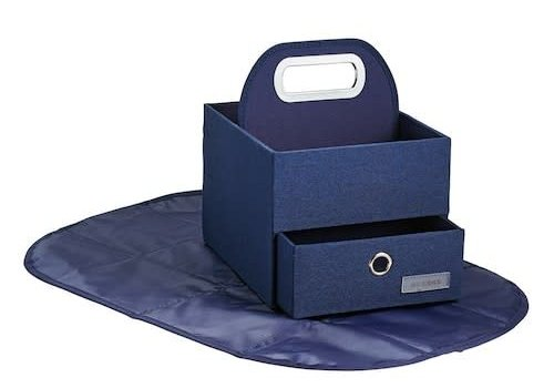 JJ Cole Collections JJ Cole Diapers And Wipes Caddy In Navy