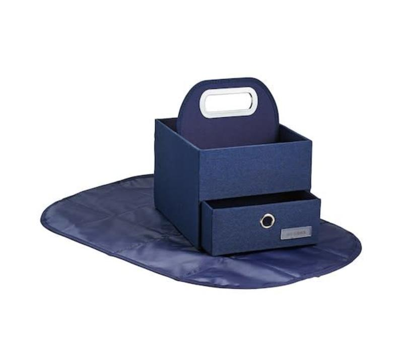 JJ Cole Diapers And Wipes Caddy In Navy