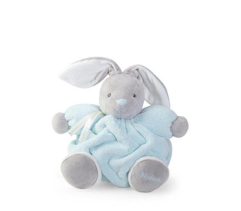 Kaloo Plume Aqua Chubby Rabbit Toy (Medium)