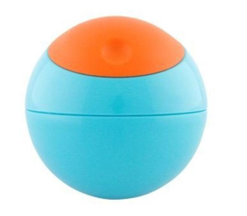 Boon Snack Ball In Blue and Tangerine
