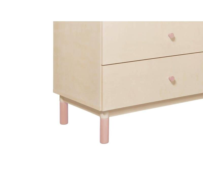 Baby Letto Gelato Knob Pack In Light Pink
