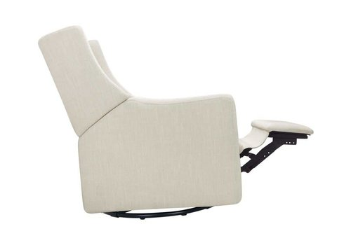 Baby Letto Baby Letto  Kiwi Glider Recliner In White Linen
