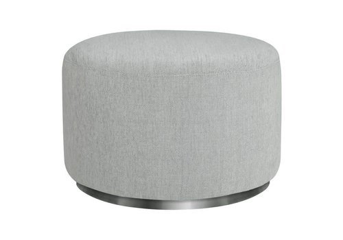 Baby Letto Baby Letto Tuba Ottoman In Winter Grey Weave