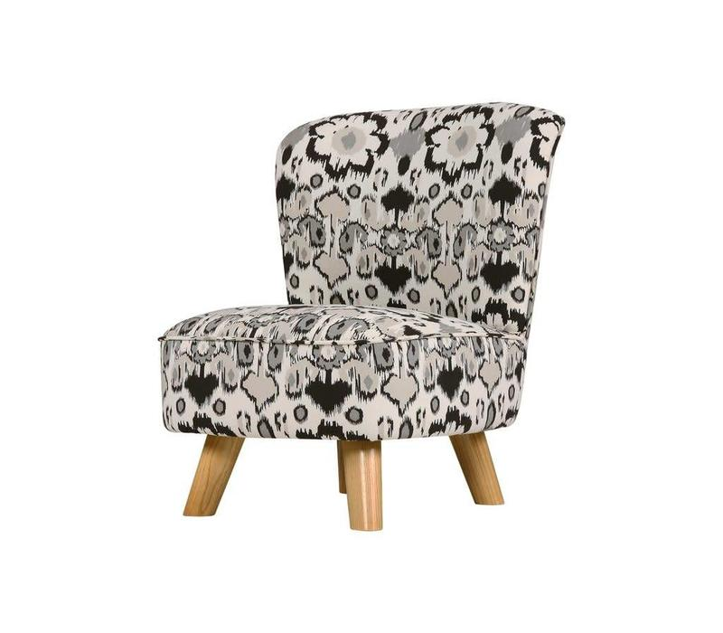 Baby Letto Pop Mini Chair In Monochrime Mod For Toddlers