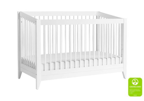 Baby Letto Baby Letto Sprout 4 In 1 Convertible Crib With Toddler Rail - White