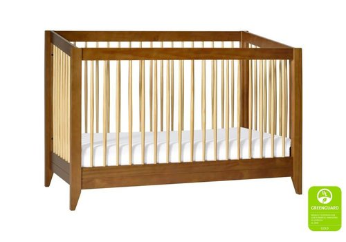 Baby Letto Baby Letto Sprout 4 In 1 Convertible Crib With Toddler Rail -Chestnut