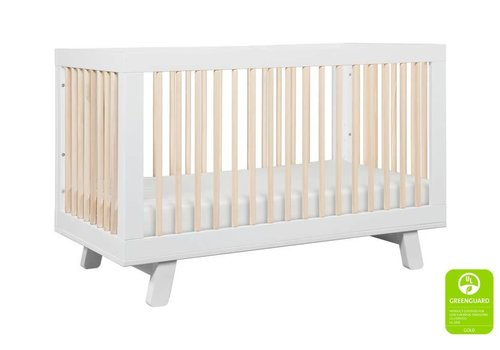 Baby Letto Baby Letto Hudson 3 In 1 Convertible Crib With Toddler Rail In White - Washed Natural