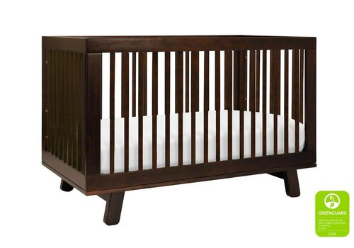 Baby Letto Baby Letto Hudson 3 In 1 Convertible Crib With Toddler Rail In Espresso