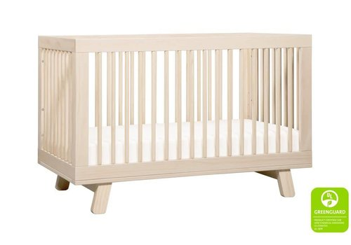 Baby Letto Baby Letto Hudson 3 In 1 Convertible Crib With Toddler Rail In Washed Natural