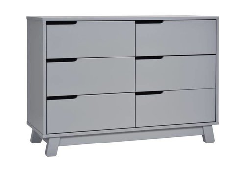 Baby Letto Baby Letto Hudson Double Dresser In Grey