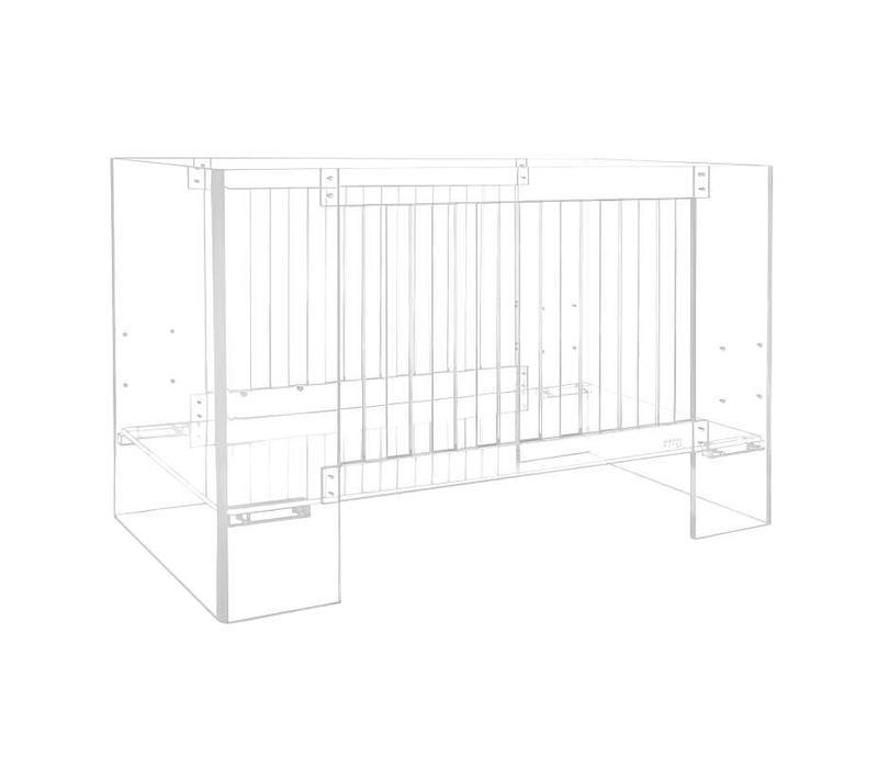 Nursery Works Vetro Crib In Clear