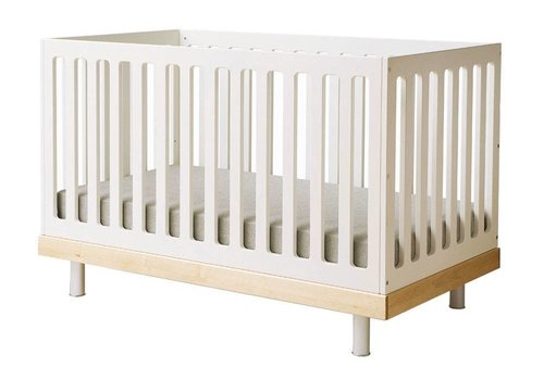 Oeuf Oeuf Classic Crib In White/Birch