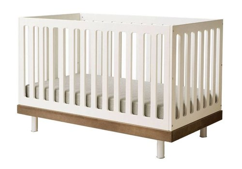 Oeuf Oeuf Classic Crib In White/Walnut