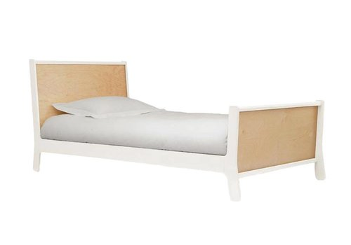 Oeuf Oeuf Sparrow Collection Twin Bed In White/Birch