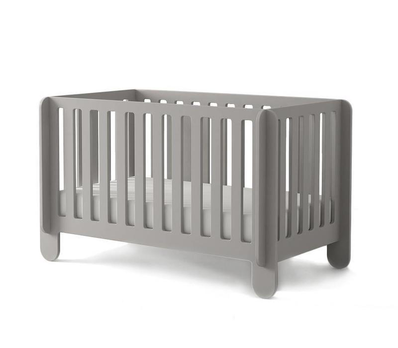 Oeuf Elephant Crib In Grey