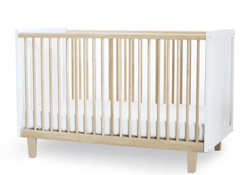 Oeuf Oeuf Rhea Crib In White/Birch