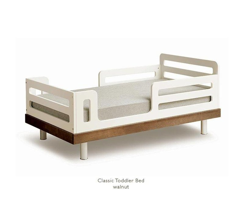 Oeuf Classic Toddler Bed ln Walnut