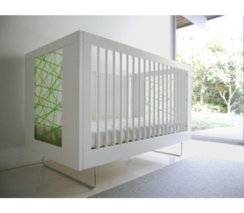 Spot On Square Alto Crib With Green Strands