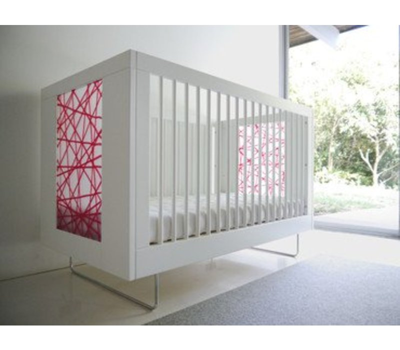 Spot On Square Alto Crib With Red Strands