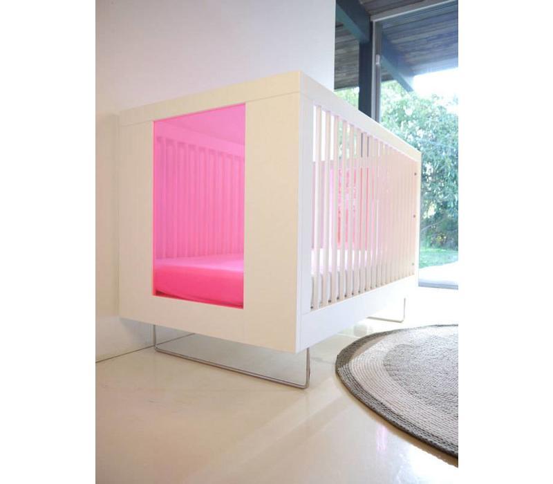 Spot On Square Alto Crib With Honeysuckle Acrylic