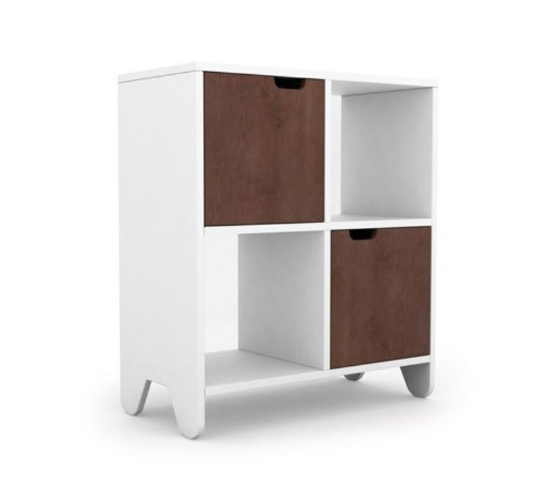 Spot On Square Hiya Bookshelf-Walnut
