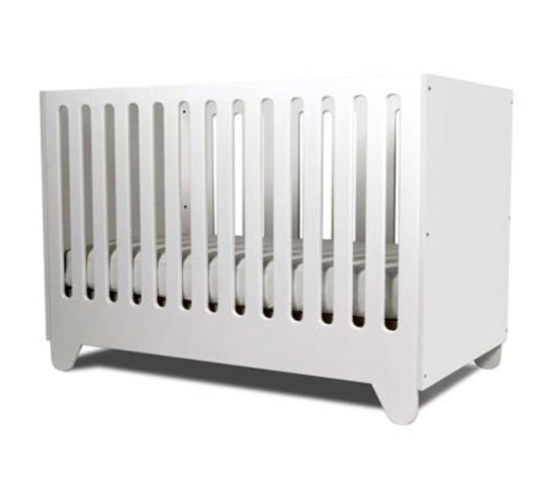 Spot On Square Hiya Crib End Panels -White