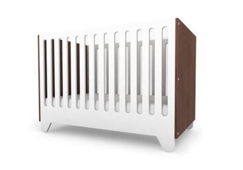 Spot On Square Spot On Square Hiya Crib End Panels -Walnut
