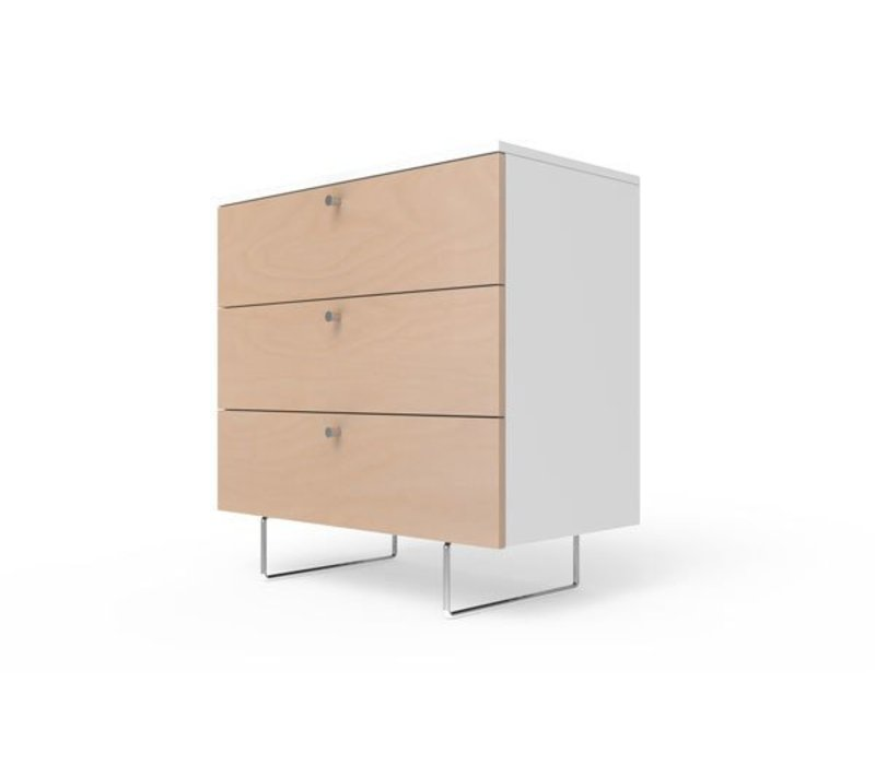 Spot On Square Alto Dresser 34'' - White-Birch