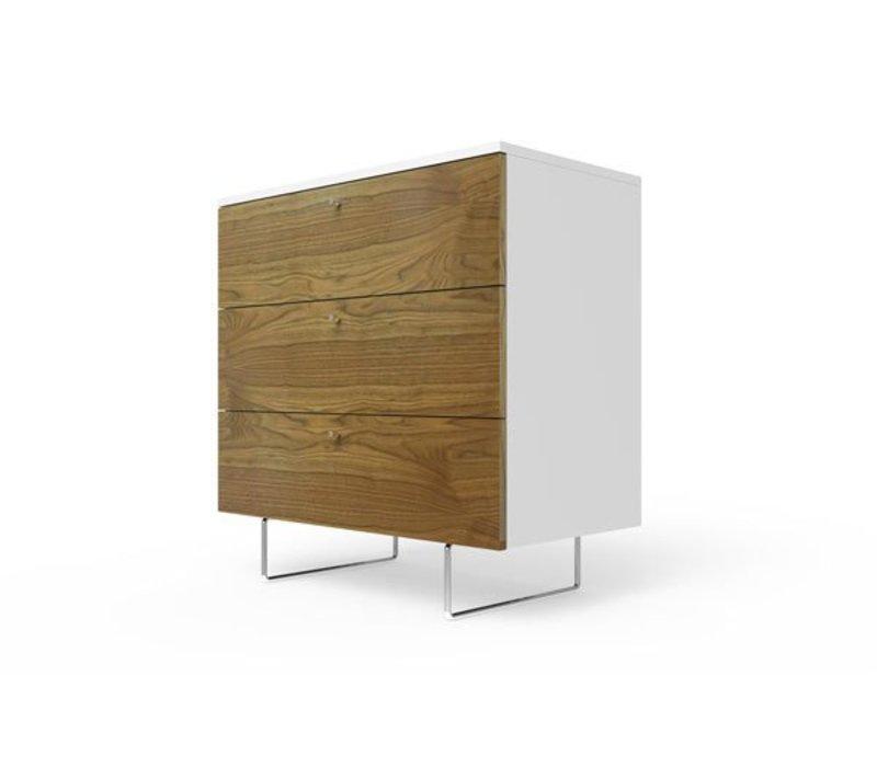 Spot On Square Alto Dresser 34'' - White-Walnut
