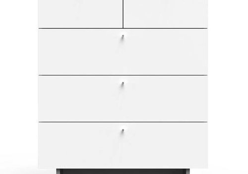 Spot On Square Spot On Square Roh 5 Drawer Dresser - White