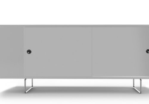 Spot On Square Spot On Square Alto Credenza With White Panels