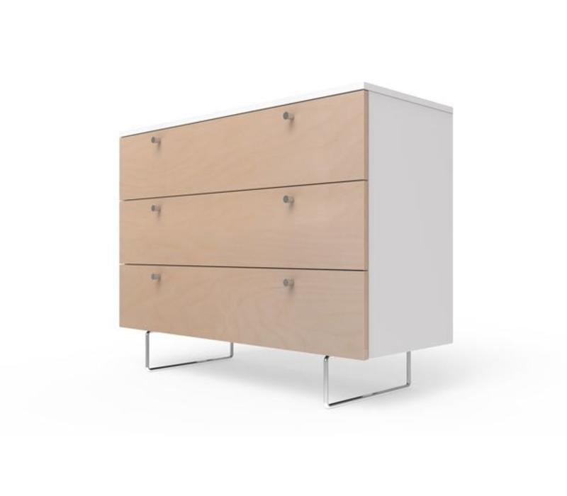 Spot On Square Alto Dresser 45'' - White-Birch