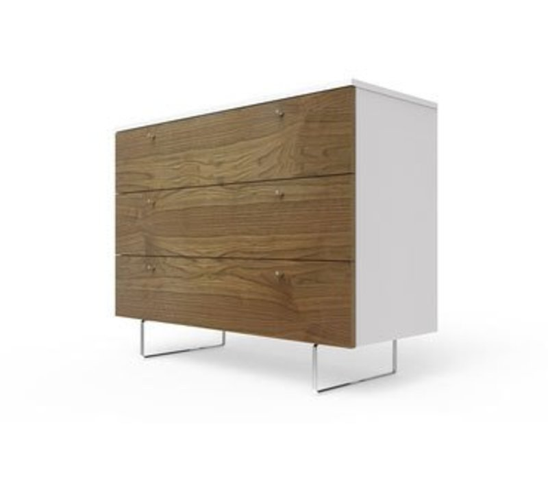 Spot On Square Alto Dresser 45'' - White-Walnut