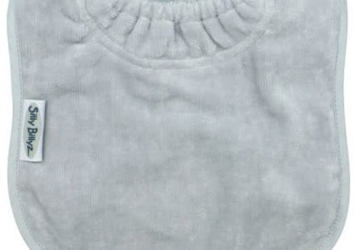 Silly Billyz SillY BillyZ Snuggly Toweling Biblet  0-2 Years In Light Grey