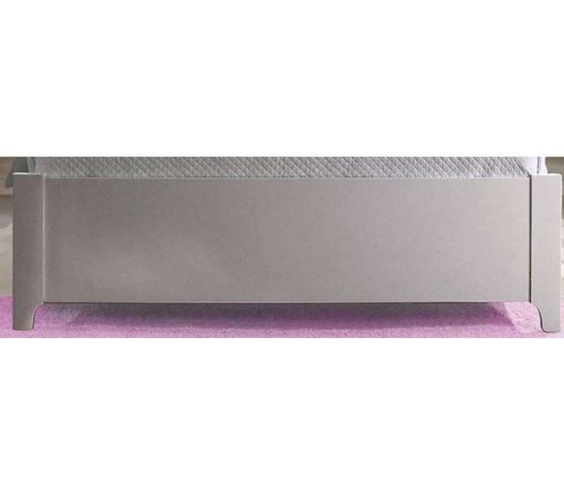 Natart Alexa Low Profile Footboard 54'' In Silver