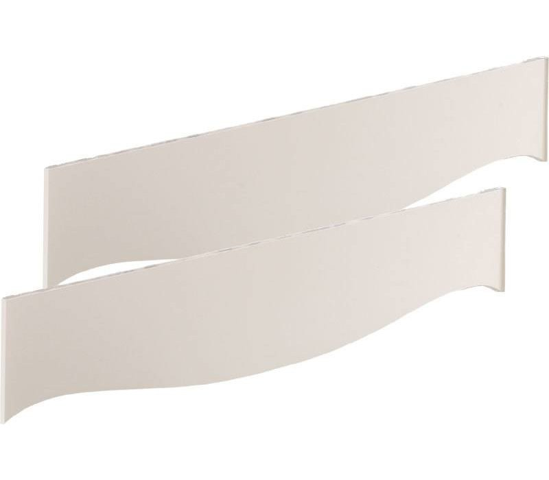 Natart Allegra Rail Kit In French White
