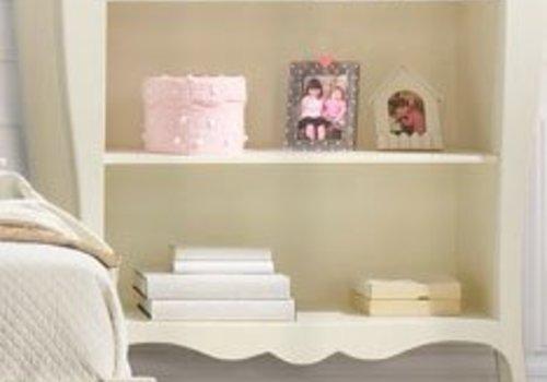 Natart Natart Allegra Bookcase In French White
