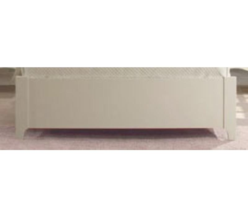 Natart Allegra Low Profile Footboard 54'' In French White