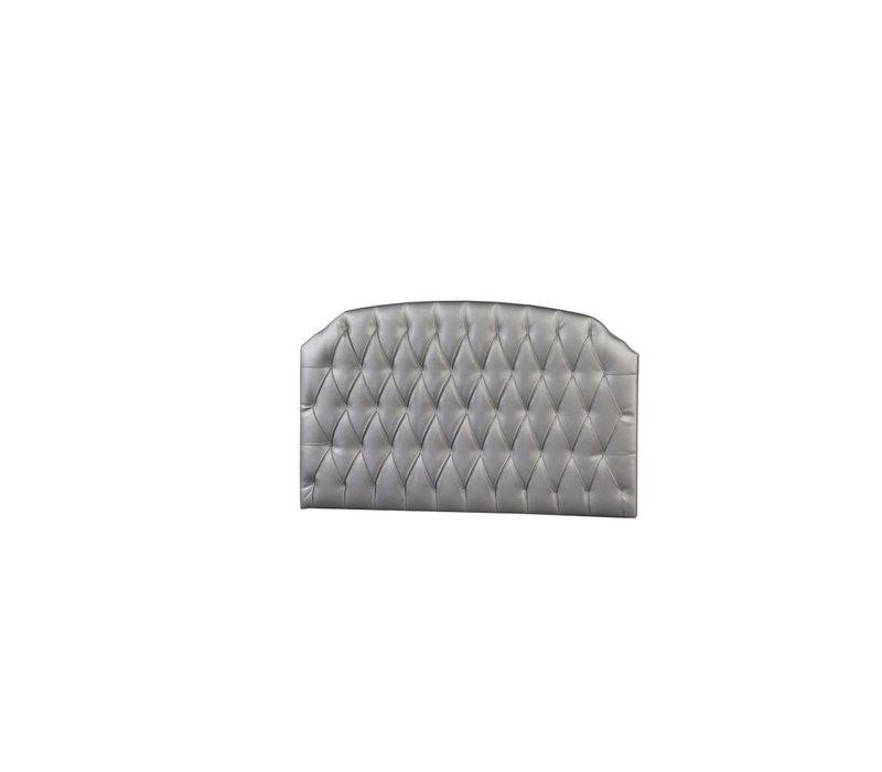 Natart Allegra-Alexa Tufted Panel In Silver