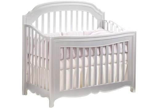Natart Natart Alexa 5 In 1 Convertible Crib Without Rails In Silver