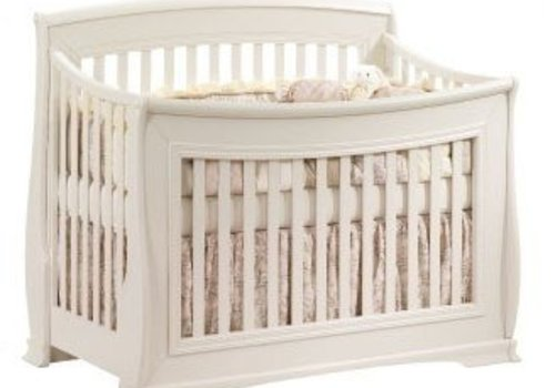 Natart Natart Bella 4 In 1 Convertible Crib to Double In Linen