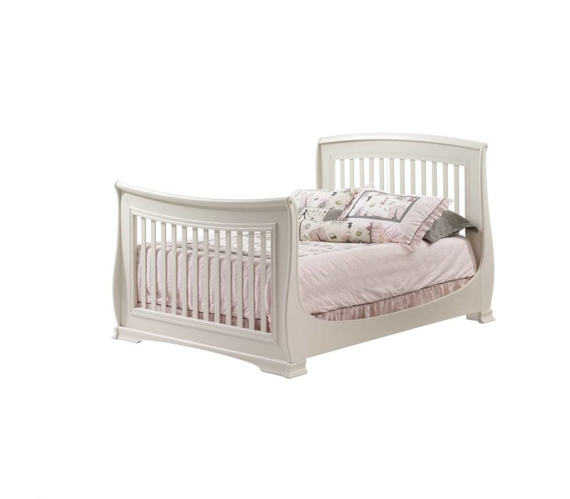 Natart Bella Double Bed 54 Inches In Linen