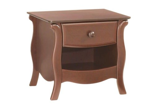 Natart Natart Bella Nightstand In Walnut