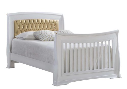 Natart Natart Bella Gold Double Bed 54''  (w/rails)