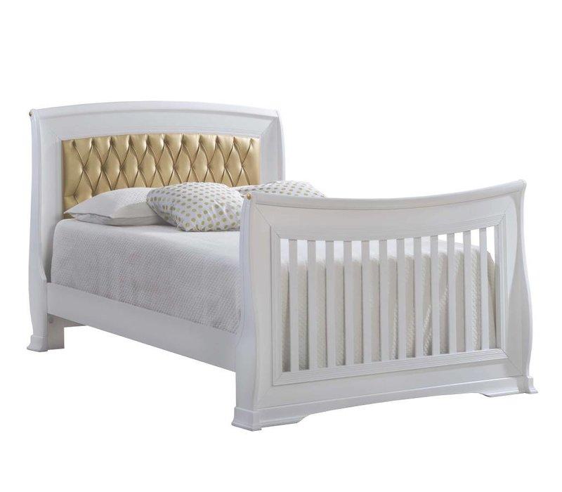 Natart Bella Gold Double Bed 54''  (w/rails)
