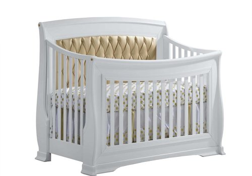 Natart Natart Bella-Gold 4-in-1 Convertible Crib  (w/out rails)