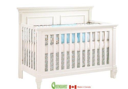 Natart Natart Belmont 4 In 1 Convertible Crib In French White